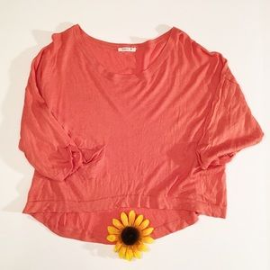Orange One Teaspoon  crop sweater top large